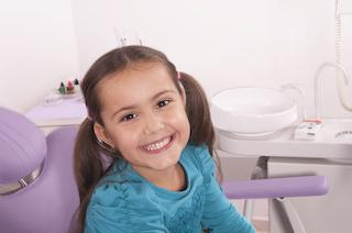 Child in Dental Chair | Kingsport, TN