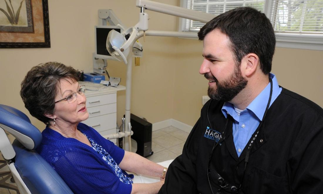 Dr. Hagan takes time to get to know our patients