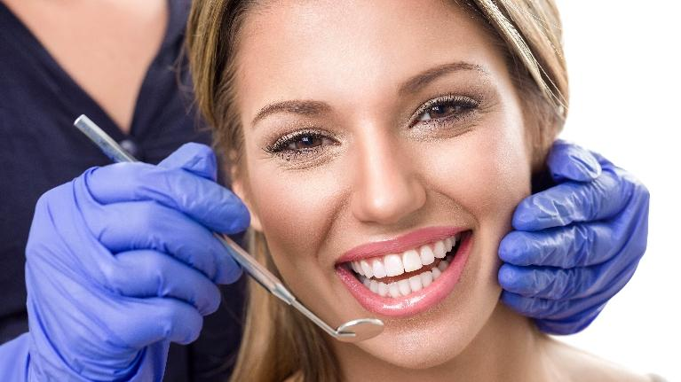 Woman Having Procedure | Hagan Dentistry