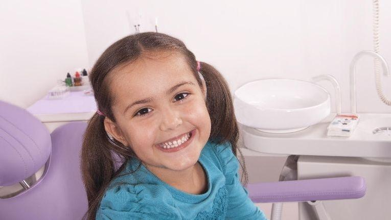 Small Child at Dentist Office | Hagan Dentistry