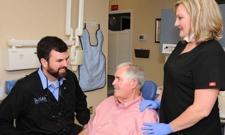Misty and Dr. Hagan Take Care of Patient | Hagan Dentistry